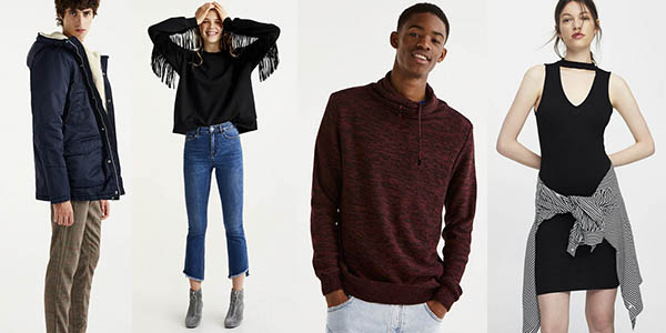 grandes descuentos ropa mujer hombre Pull & Bear