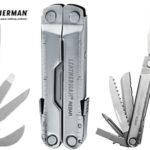Herramienta de 17 usos Leatherman Rebar de acero inoxidable