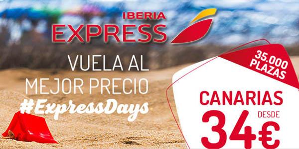 Iberia Express rebajas enero 2019