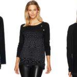 Jersey suéter Desigual Gaea para mujer barato en Amazon Moda