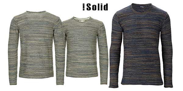 Jersey Solid Maghin en varios colores para hombre chollo en Amazon Moda