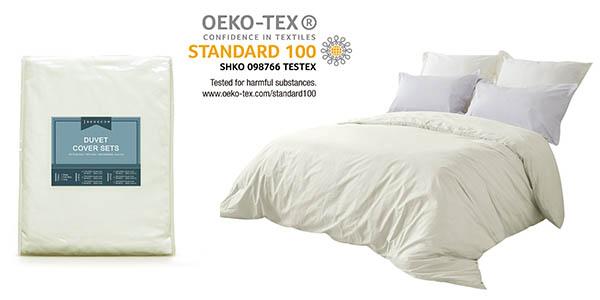 juego funda nórdica almohadas cama 135x200 cm Bedecor chollo