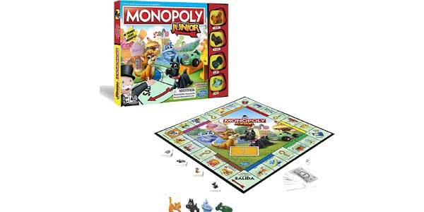 Monopoly junior de Hasbro Gaming A6984546 barato en Amazon