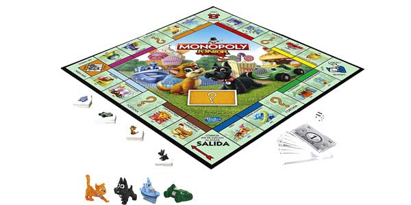 Monopoly junior de Hasbro Gaming A6984546 chollo en Amazon