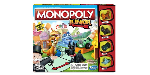 Monopoly junior de Hasbro Gaming A6984546 chollazo en Amazon