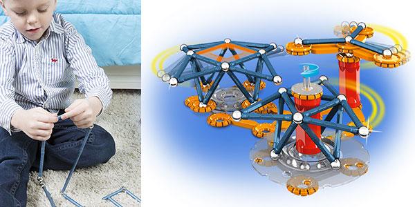 Juguete educativo Geomag Mechanics de 146 piezas rebajado