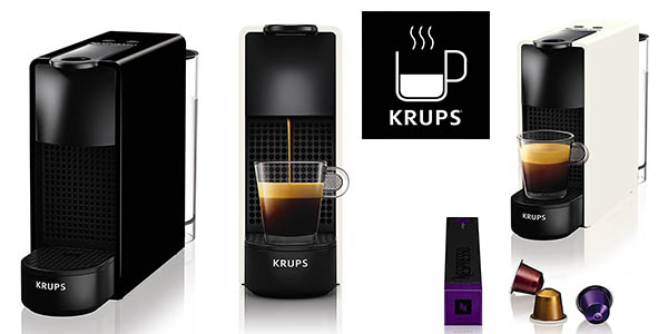 Krups Nespresso Essenza Mini cafetera cápsulas compacta