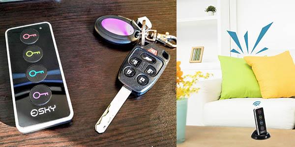 localizador llaves Esky-ESK02 LED práctico para buscar objetos perdidos relación calidad-precio brutal
