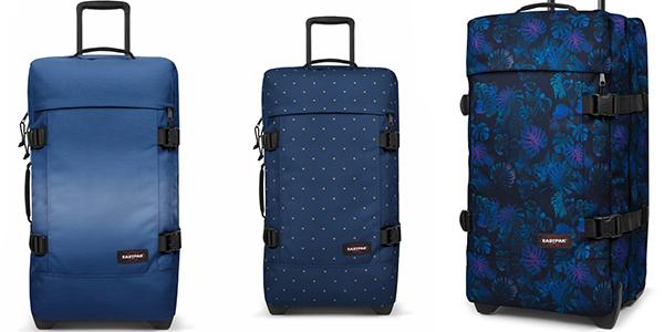 maleta blanda correas ajustables Eastpak Tranverz Knit gran capacidad
