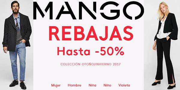 online retailer c7389 9b441 Mango rebajas 2018 ropa mujer hombre 3 enero 2018