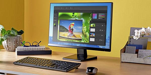 Monitor HP 22w barato