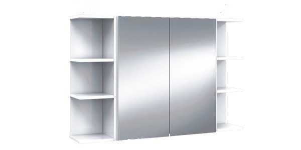 Mueble de baño Arkitmobel K-60 305083BO de 2 puertas con espejo chollazo en eBay