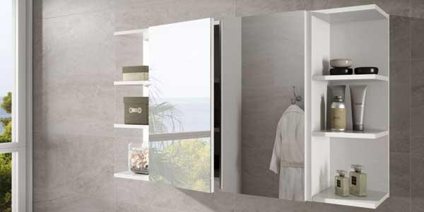 Mueble de baño Arkitmobel K-60 305083BO de 2 puertas con espejo barato en eBay España