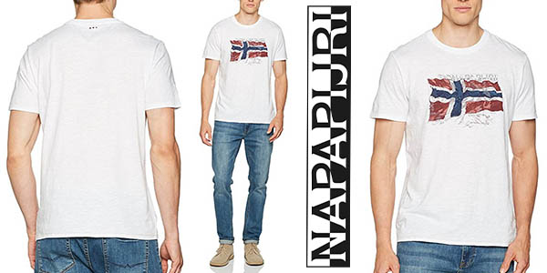 Napapijri Selo camiseta casual hombre barata