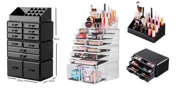 b7751ffe6 Chollo Organizador de Maquillaje Ebenne con 4 módulos separables por ...