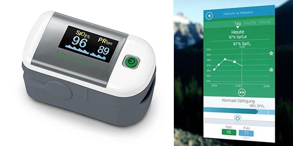 Oxímetro de pulso Medisana PM 100 rebajado