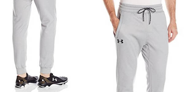 pantalones deporte para hombre Under Armour Storm Fleece Jogger tejido suave afelpado