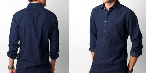 Polera shirt Scalpers Ashford Navy 13085