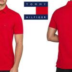 Polo Tommy Hilfiger Core en color rojo para hombre