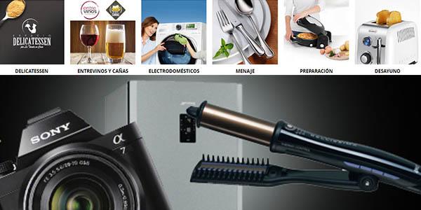 productos hogar electrodomésticos rebajados La Tienda en Casa