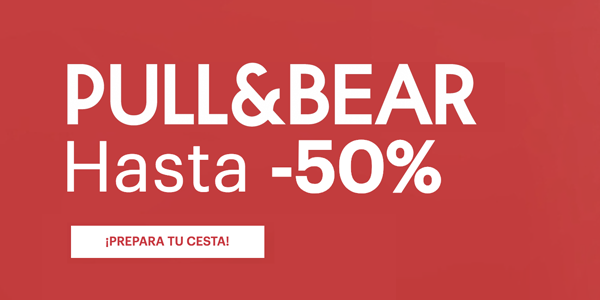 Rebajas en Pull and Bear