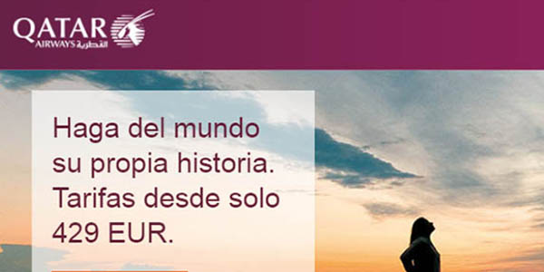 Qatar Airways vuelos rebajas 2019
