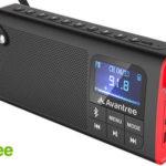 Altavoz bluetooh con radio FM y reproductor MP3 Avantree