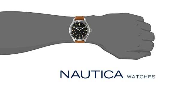 Reloj analógico Nautica NAD11018G para hombre chollazo en Amazon Moda