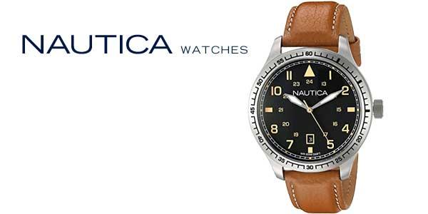 Reloj analógico Nautica NAD11018G para hombre chollo en Amazon Moda