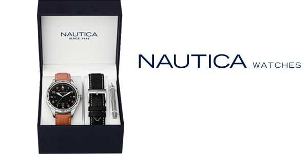 Reloj analógico Nautica NAD11018G para hombre barato en Amazon Moda