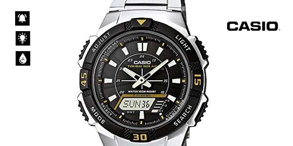 0b2becee8ba8 CHOLLAZO Reloj Casio Collection AQ-S800WD-1EVEF con carga solar para ...