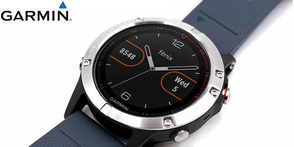 Reloj GPS Garmin Fēnix 5 Silver barato