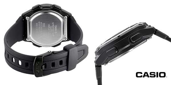Reloj Casio Collection W-756-2AVES negro para hombre chollo en Amazon Moda