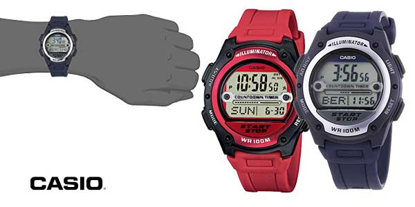 revisa ec32b a63e8 Chollazo Reloj digital Casio Collection W-756-2AVES para ...
