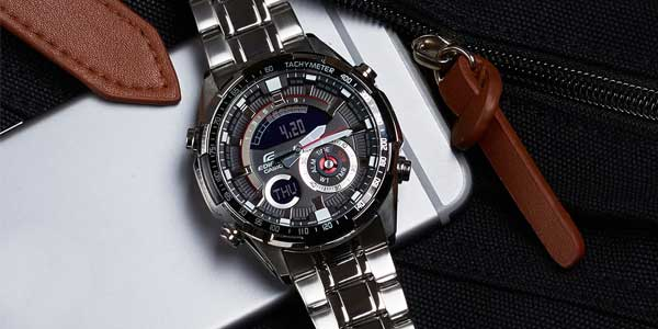 Casio Edifice ERA-600D-1A9VUEF chollo en Amazon Moda