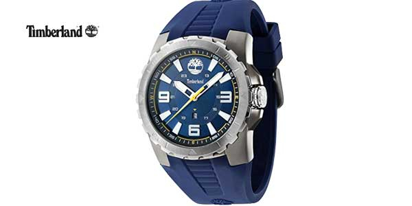 Reloj Timberland TBL.94471AEU/03P de cuarzo con correa de silicona azul chollazo en Amazon Moda
