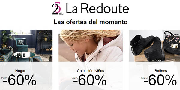 ropa grandes marcas hogar grandes descuentos La Redoute