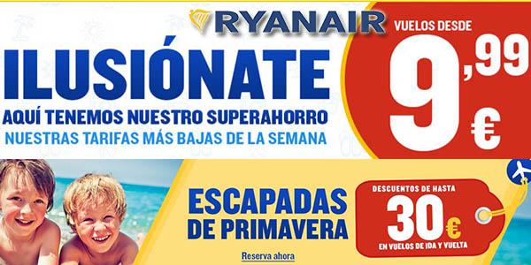 Ryanair rebajas enero 2019