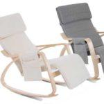 Sillón de relax mecedora Homcom con posición ajustable barato en eBay