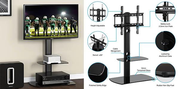 soporte televisor Fitueyes regulable altura oferta