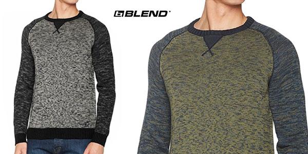 Suéter Blend de algodón combinado para hombre a buen precio