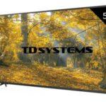 "Televisor LED TD Systems K55DLM8U UHD 4K de 55"" barato en Amazon"