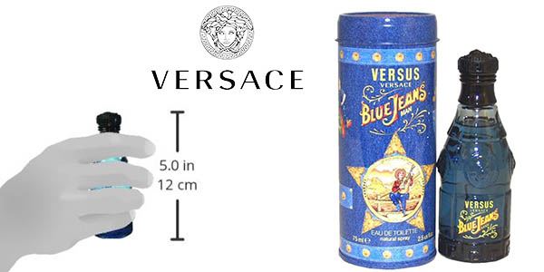 Versace Blue Jeans eau de toilette 75 ml chollo