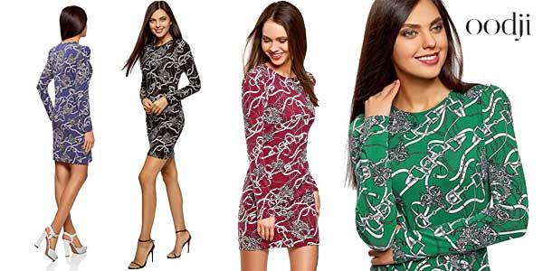 Vestido ajustado Oodji Ultra para mujer en varios colores barato en Amazon Moda