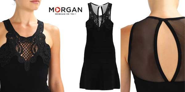 Vestido Morgan Rjane negro elegante para mujer chollo en Amazon Moda