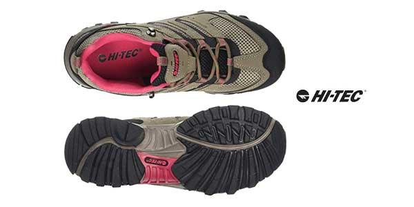 Zapatillas de senderismo Hi-Tec Acacia Ii Womens para mujer chollazo en Amazon