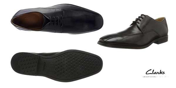 Zapatos de vestir Clarks Gilman Mode Derby para hombre en color negro baratos en Amazon Moda