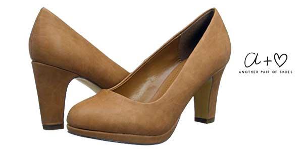 ce6e6215486 Zapatos de salón Another Pair of Shoes Patriciaae3 para mujer baratos en  Amazon Moda