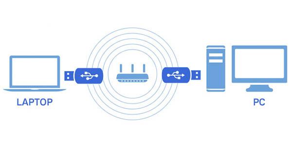 Adaptador USB WiFi Linksys WUSB6400M MU-MIMO barato