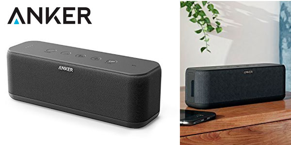 Altavoz Portátil Bluetooth Anker Soundocre Boost barato en Amazon